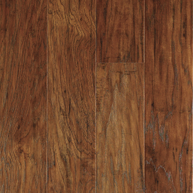 Marcona Hickory Laminate Flooring Allen+Roth Brand from Lowe's